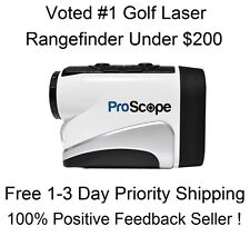2016 Lofthouse ProScope 400 Golf Laser Rangefinder Pinseeker Edition Pro Scope