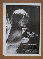 Red Hot Chili Peppers - Aeroplane  1996 music memorabilia advert 16 x 12 poster