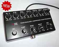 7band Sound Equalizer / Compressor / Echo Processor for ICOM 8 pin mic ham radio