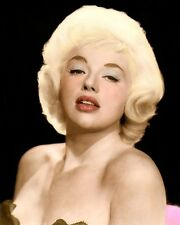 "DIANA DORS 2 ENGLISH ACTRESS SEX SYMBOL MOVIE STAR 8x10"" HAND COLOR TINTED PHOTO"