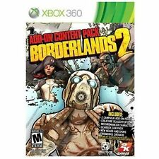Borderlands 2: Add-On Content Pack (Microsoft Xbox 360, 2013) Brand New Sealed