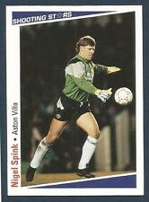 SHOOTING STARS-1991-92- #025-ASTON VILLA & ENGLAND-NIGEL SPINK