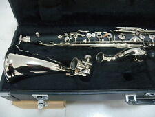 NEW Bass Clarinet Model PADS And Case Low Eb Nice Tone  #04