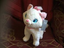 """OFFICIAL DISNEY ARISTOCATS MARIE THE CAT 12"""" SOFT TOY PLUSH WITH BADGE NEW TAGS"""