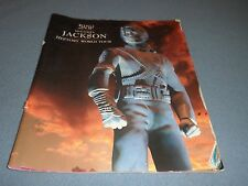 MICHAEL JACKSON WORLD TOUR MAGAZINE