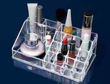 Transparent Acrylic Cosmetic Storage Box Rack Makeup Storage for Table Organizer