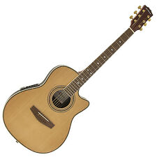 New Roundback Electro Acoustic Guitar by Gear4music