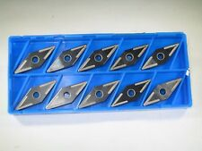 BOX ( 10  ) KYOCERA VNMX 332 CERAMIC CARBIDE INSERT LATHE GROOVING TURNING TOOL