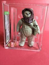 Vintage Star Wars Figure Last 17 Warok Ewok AFA U90 NM+/MT