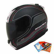 MT Blade SV Race Line Helmet Motorcycle Motorbike Bike Scooter Crash Lid Matt