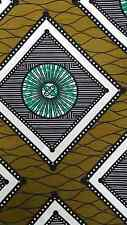 African Wax Fabric,Ankara,Crafts & Clothing, Tribal,Vintage,Textiles,6 yrds,