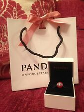 "Genuine Pandora Disney Parks Exclusive 'I LOVE MINNIE"" Mouse With Box&bag"