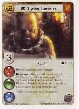 Tyrion Lannister AGoT LCG Game of Thrones City of Secrets 5