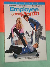 PRISTINE Employee of the Month FULL FRAME DVD JESSICA SIMPSON DAX SHEPERD BELL