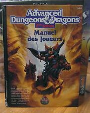 AD&D 2nd edition Player's Handbook French Language Edition (two colour version)