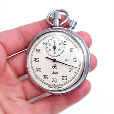 Stopwatch AGAT Vintage Soviet Mechanical Stop watch Made in USSR CCCP Watch #443