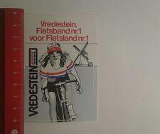 Aufkleber/Sticker: Vredestein Fietsband Nr 1 voor Fietsland (071216153)
