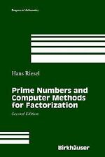 Prime Numbers and Computer Methods for Factorization (Progress in Mathematics),