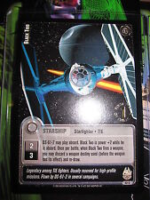 STAR WARS CCG JEDI KNIGHTS CARD MINT/N-MINT 1ST DAY 52C COM BLACK TWO
