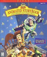 Walt Disney's Toy Story Animated StoryBook  Story Book Windows/Mac 1998 Game HTF