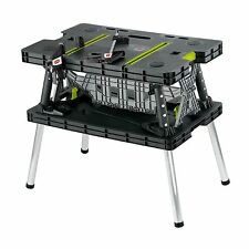 Keter Folding Work Table EX Portable and Lightweight Easy to Clean Rust Proof