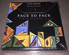 Face To Face:A Cubist Strategy Game by Fundex - 2009 Edition - Brand New In Seal
