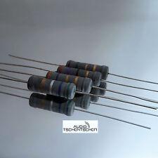 2x Jantzen Mox Metalloxidwiderstanden 8,20 Ohm, 5 Watt