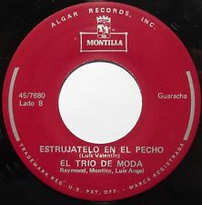 GUARACHA latin EL TRIO DE MODA on MONTILLA super rare HEAR IT!