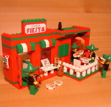 DadventureDan's CUSTOM MEXICAN RESTAURANT for LEGO town city mariachi band set