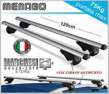 BARRE PORTATUTTO PORTAPACCHI VOLKSWAGEN CROSS GOLF 6 2010 2014 RAILS E ANTIFURTO