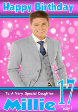 JOEY ESSEX Personalised Birthday Card ! ANY NAME/AGE/RELATION, !!!!