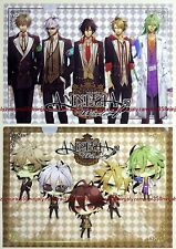 AMNESIA clear file folder set of 2 official yaoi bl anime game