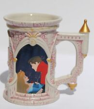 Disney Theme Park Princess Aurora Castle Mug Authentic - Rare - Hard To Find