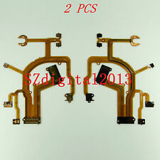 2PCS/ NEW Lens Main Flex Cable for CANON G10 G11 G12 Digital Camera Repair Part