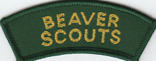 Boy Scout Badge BEAVER SCOUTS IRELAND