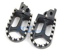 CNC RACING FOOTPEGS FOOTREST 1998-2012 KTM 65-990 Dirt Bike BLACK 9 FP13