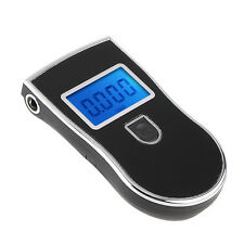 Portable Analyzer Police Digital Breath Alcohol Tester Breathalyzer Mouthpieces