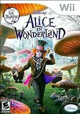 Disney's Alice in Wonderland COMPLETE OKAY Nintendo Wii
