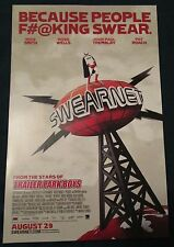 Swearnet Movie Promo Poster Fan Expo Comic Con 2014 Stars From Trailer Park Boys