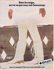 Publicité Advertising 016 1981 Eram chaussures après-ski