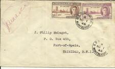 Montserrat VICTORY ISSUE-SG#114,#113 G.P.O.-PLYMOUTH NO/1/46 First Day