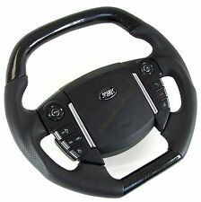 Steering Wheel Black Carbon Fibre fiber Range Rover SPORT 2010 on interior HSE