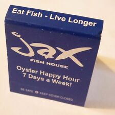 Matches Matchbook ~ JAX Fish House ~ Denver, COLORADO ~ Fresh Seafood Restaurant