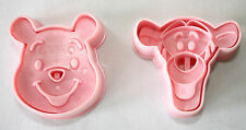 Winnie The Pooh & Tigger Plunger Cutters Set of 2, Sugarcraft, Cake Decorating