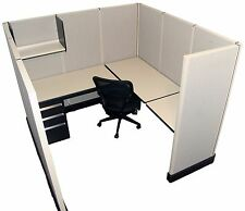 Herman Miller AO2 6'x6' Office Cubicles / Workstations Refurbished Furniture