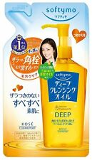 KOSE Softymo Deep Cleansing Oil Refill 200mL Makeup Remover Japan Import New