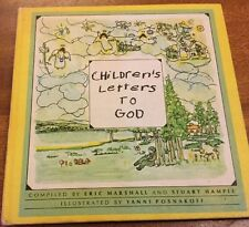 Vintage Book Children's Letters To God 1967 Collins Lovely Little Book