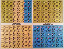 Avalon Hill Panzer Leader Special Forces counter set