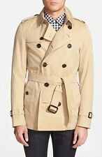 AUTHENTIC BURBERRY SHORT  TRENCH COAT SANDRIGHAM   MUST SEE