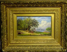 Russell Smith (American, 1812-1896) Original Oil Painting, w/Gallery Provenance
